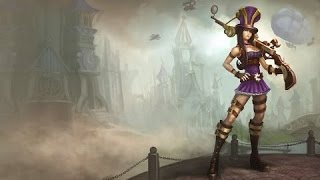 League of leguend Caitlyn 1 day