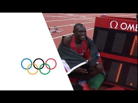 David Rudisha Breaks 800m World Record - London 2012 Olympics