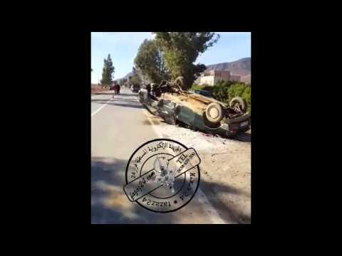 فيديو... من إقليم خنيفرة: حادثة سير خطيرة بالقرب من البرج