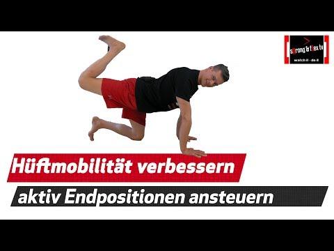 Aktive Hüftbeweglichkeit verbesseren - Software Update installieren