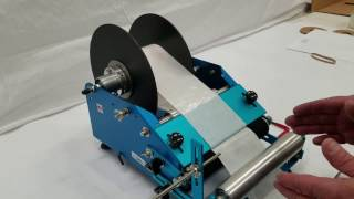 I-JR. Instructional Video - Changing roll stock on Race JR (blue) label machine