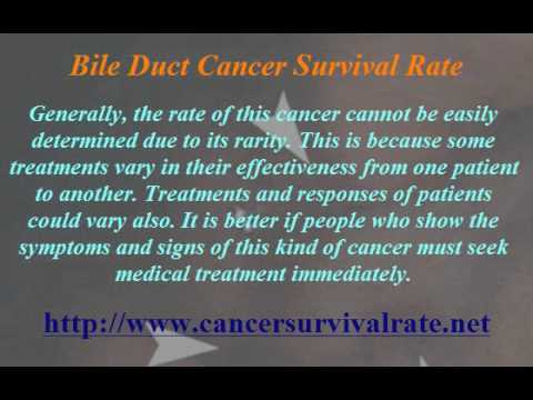 Bile Duct Cancer Survival Rate
