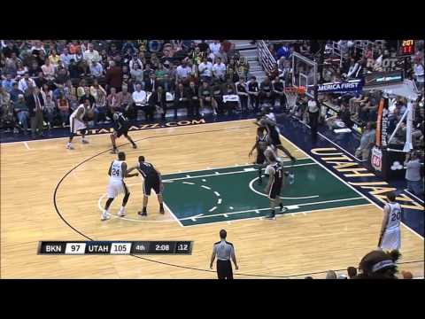 All 8 of Randy Foye's three pointers vs. The Nets 3-30-13