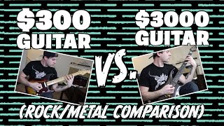 Download Lagu $300 VS $3000 Guitar (Rock/Metal Comparison) Gratis STAFABAND