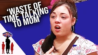 Daughter Storms Out Of Emotional Talk With Deaf Parents - Supernanny US
