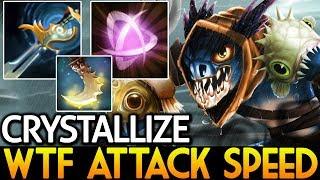 Crystallize [Slark] WTF Insane Attack Speed 7.15 Dota 2