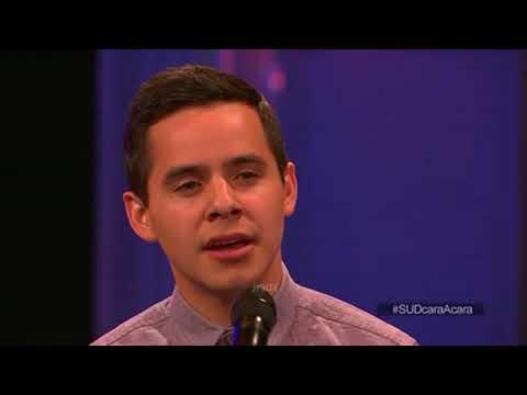 David Archuleta 02 Más Cerca, Dios, de Ti (Nearer My God to Thee) @ Live Chat (24 June 2014)
