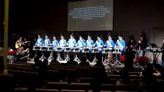 Little Drummer Boy Snare Drumline 1st Performance