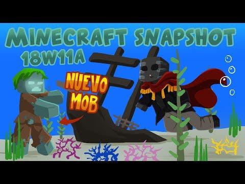 Minecraft Review 18w11a [NUEVO MOB]