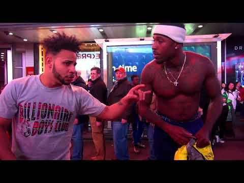 Странная игра на Манхеттене. Назовут геем и попросят 20 баксов. Наш день в Нью Джерси