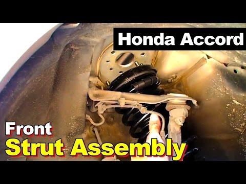 1999 Honda Accord Front Strut Assembly Repair