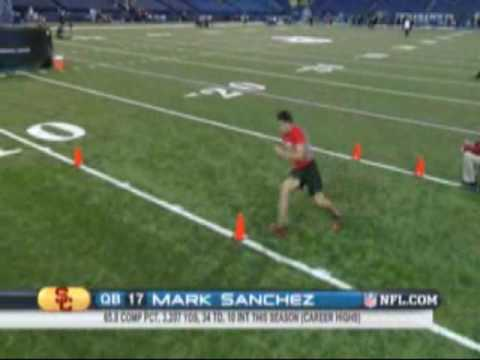 Mark Sanchez - NFL Draft Training