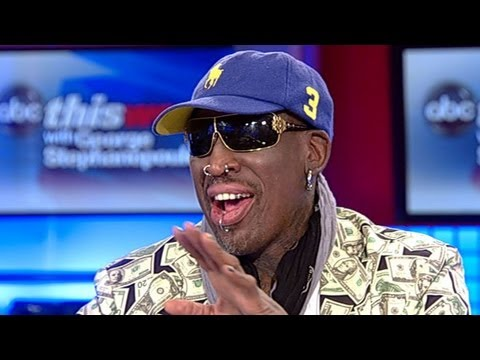Dennis Rodman 'This Week' Interview: NBA Basketball Star Discusses Kim Jong Un, North Korea Visit