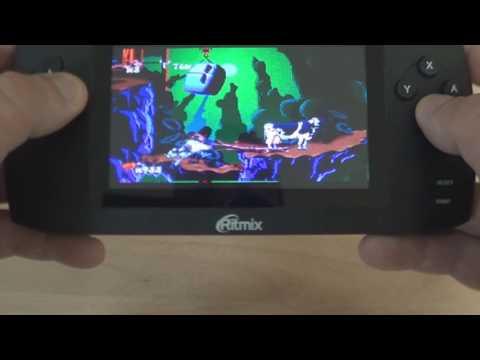 Отзывы о Портативная игровая приставка Ritmix RZX - 50