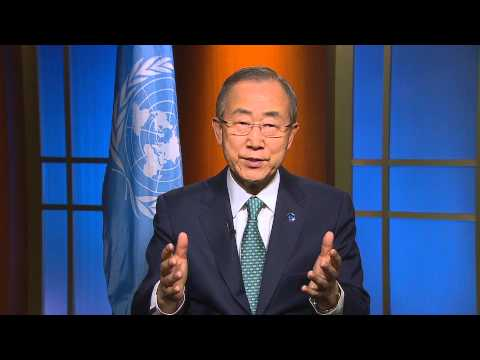 "Ban Ki-moon: Small island developing States are among the ""giants in musical history."""