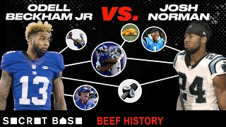 Odell Beckham Jr's beef with Josh Norman was a hard-hitting, media-fueled drama