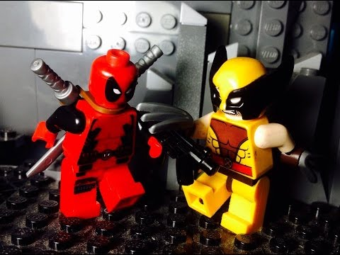 Lego Deadpool vs Wolverine