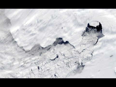 Antarctic ice shelves are melting dramatically