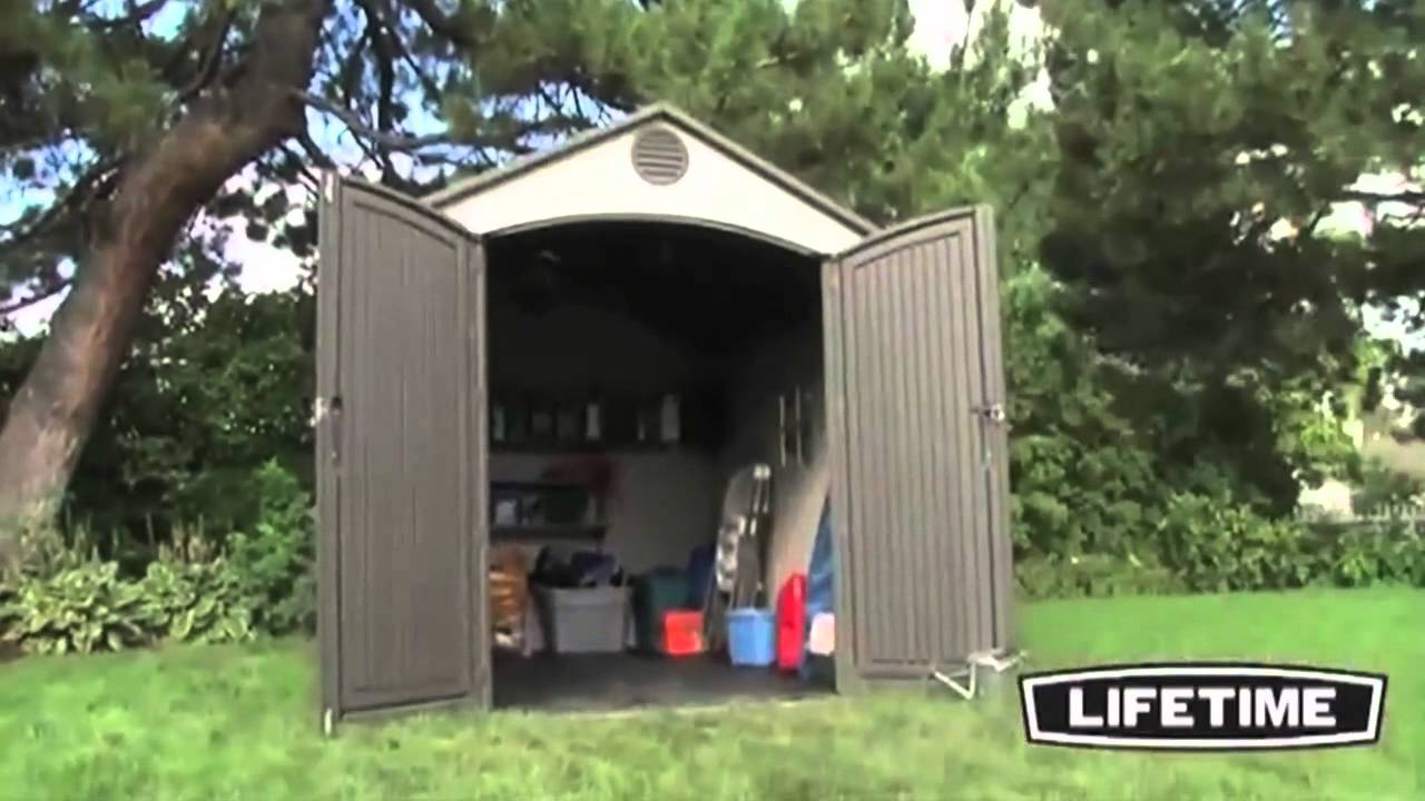 Lifetime 6405 Lifetime 8x10 Storage Shed Epic Shed