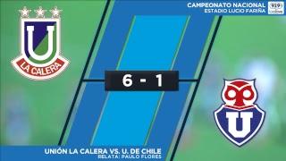 #ConclaveEnLaCancha Fecha 10 | U. la Calera 6-1 U. de Chile - Relata Paulo Flores