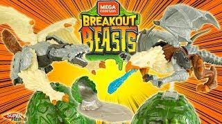 Breakout Beasts on part à la pêche aux dragons dans du Slime un vrai trésor à construire Mattel