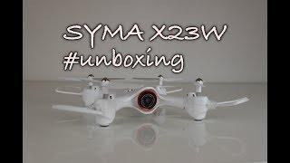Dron Syma X23W | Unboxing CZ a představení dronu | RCprofi.cz