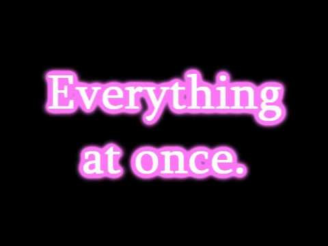 Lenka - Everything At Once + Lyrics video