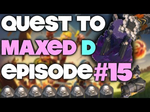 Quest to MAXED D #15 - MASTERS League Gameplay! - Clash of Clans