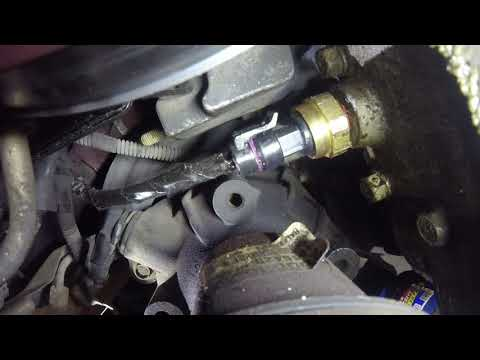 How To Replace an Oil Pressure Sending Unit On a GM 3.8l V6