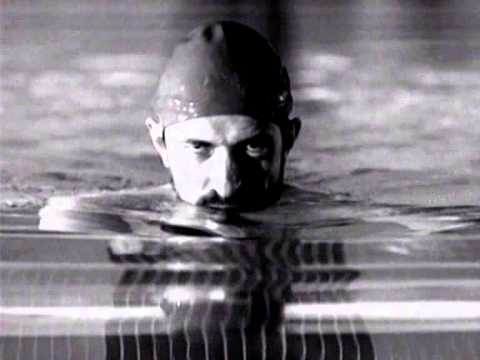 """La piscina"" 1991 Italia, promo TV Programma RAI 3 ""La piscina"""