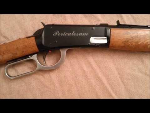 Daisy 1894 Winchester BB Gun -  Modification and Restoration