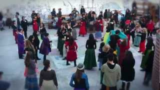 one billion rising Madrid spain baila con faldas arriba FLASHMOB
