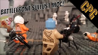 EPIC Lego Star Wars Sullust MOC Slideshow