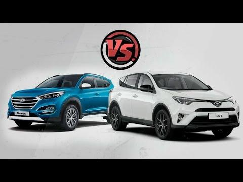Hyundai Tucson 2016 vs Toyota Rav4. 2 Лошадиные силы