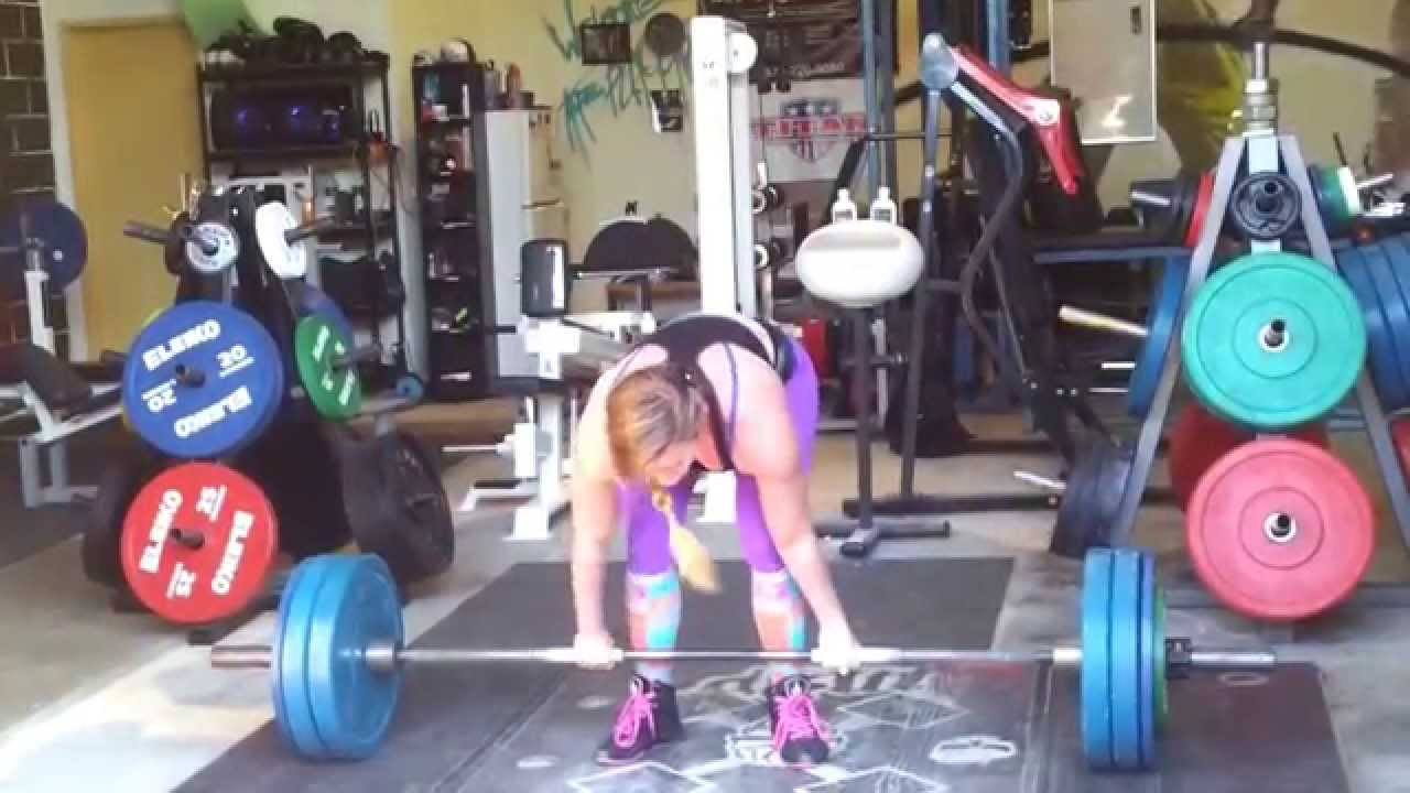 Zoe Lee Baker Zoe Lee Baker Deadlift 160kgs
