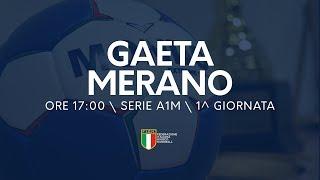 Serie A1M [1^ giornata]: Gaeta - Merano 25-26