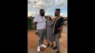 KWESTA - KUHAMBANI FEAT. RICK ROSS (BEHIND THE SCENES)