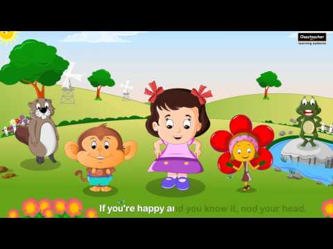 English Nursery Rhymes (poems) clap Your Hands | Classteacher Learning Systems video
