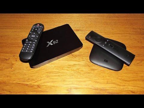 Что купить X92 или Xiaomi MI Box 3  Сравнение андроид ТВ приставок  mp4