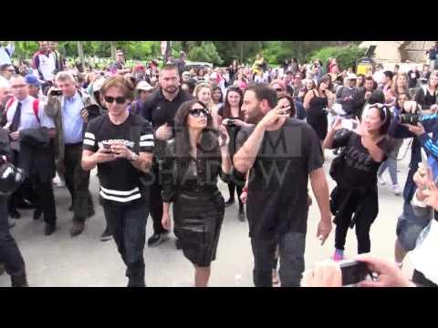Kim Kardashian and best friend visiting the Eiffel Tower in Paris