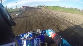 Jordan mx  quad open B. 5/6/2017 race #2 moto 2