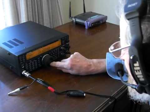 CIMG0314 ham radio tuning.MOV