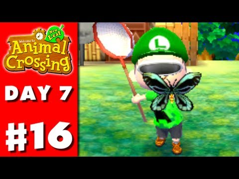 Animal Crossing: New Leaf - Part 16 - June Bug-Off (Nintendo 3DS Gameplay Walkthrough Day 7)