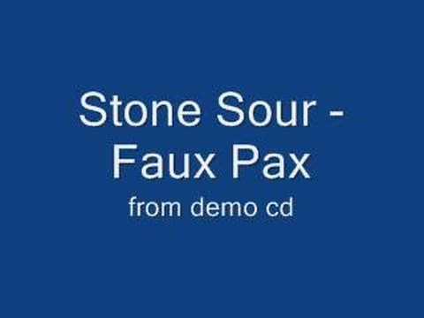 Stone Sour - Faux Pax