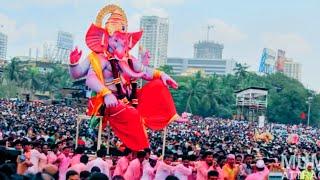 Mumbai Ganesh Chaturthi 2014 : Visarjan at Girgaum Chowpatty