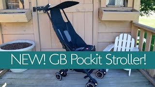 New!  World's Most Compact Stroller~ GB POCKIT Review