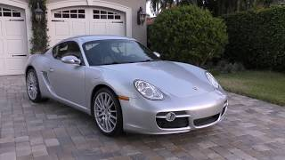 2006 Porsche Cayman S Review and Test Drive by Bill - Auto Europa Naples