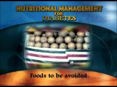 Nutritional Management For Diabetes
