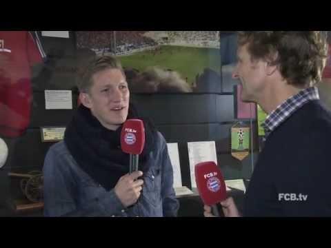 Bastian Schweinsteiger aus der FCB Erlebniswelt