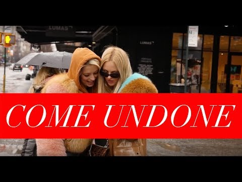 COME UNDONE Episode 4: Shea Marie and Caroline Vreeland | New York Fashion Week Day 5/6